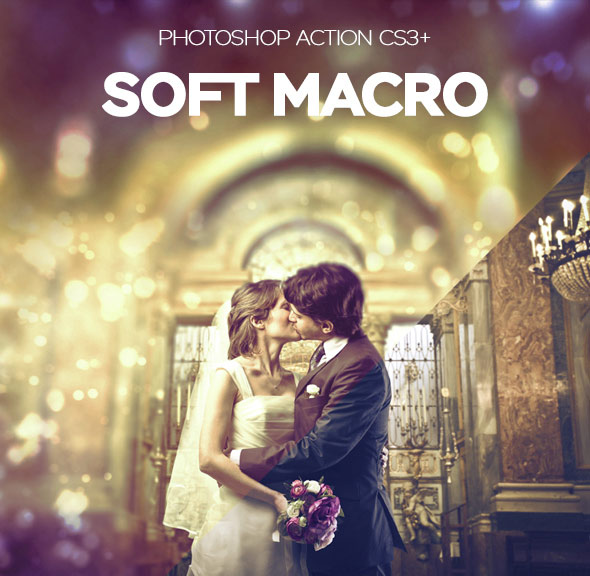Macro Soft Photoshop Action