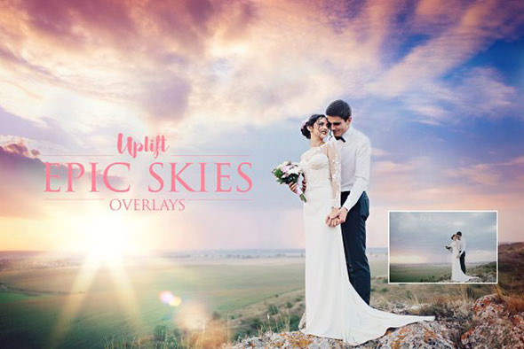 Epic Skies Cloud Overlays
