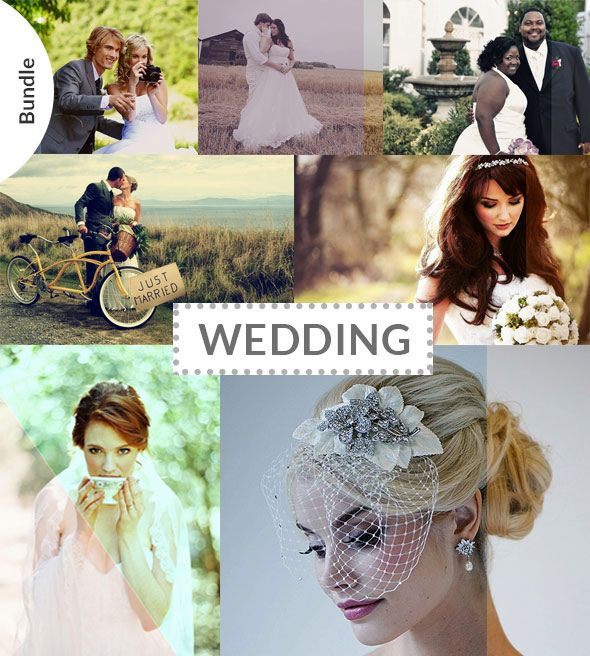 60 Wedding & Bridal Actions Bundle