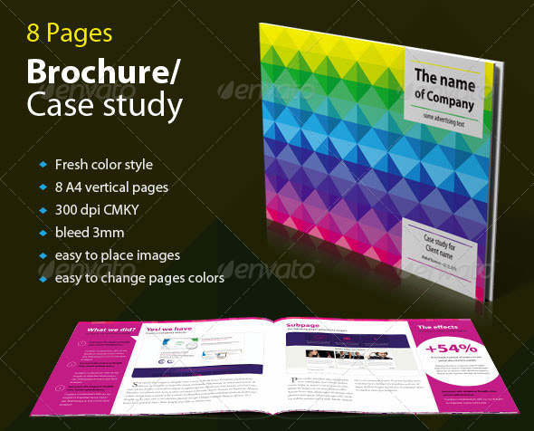 Brochure / Case Study - Fresh Colors