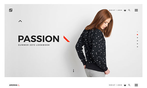 Arosha - Creative Minimal Shop PSD Template
