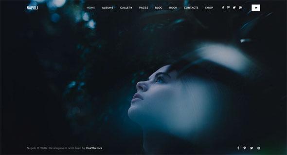 Napoli - Modern Photography Portfolio Theme