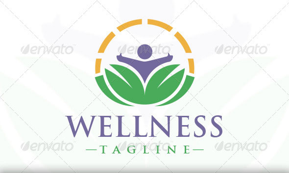Wellness Logo Template