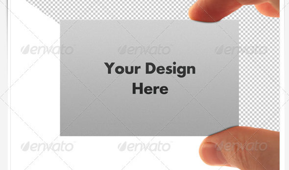 Business Card Display Templates - Hi Res