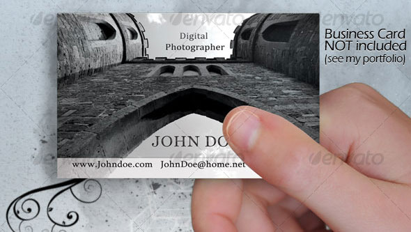 A beautiful Business Card template