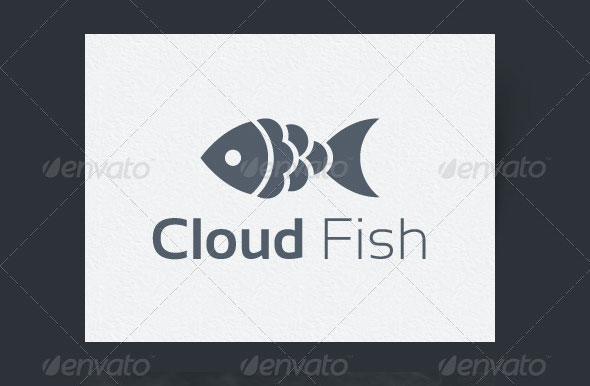 Cloud Fish Logo