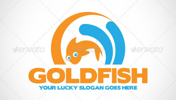 Gold Fish Logo