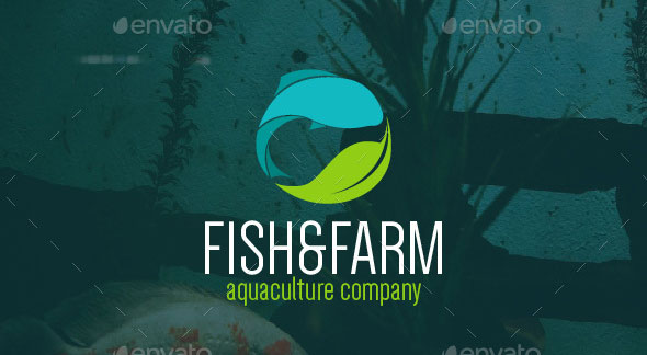 Fish & Farm Logo Template