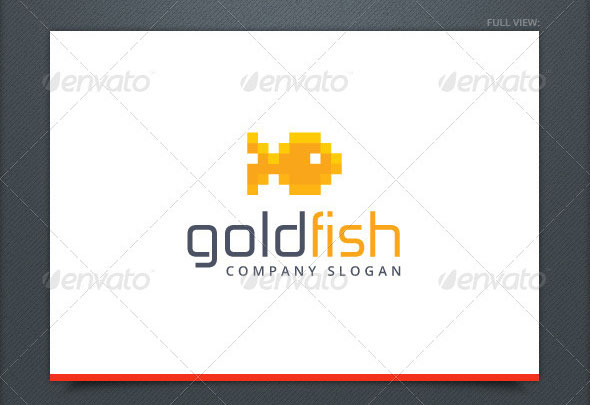Goldfish Logo Template