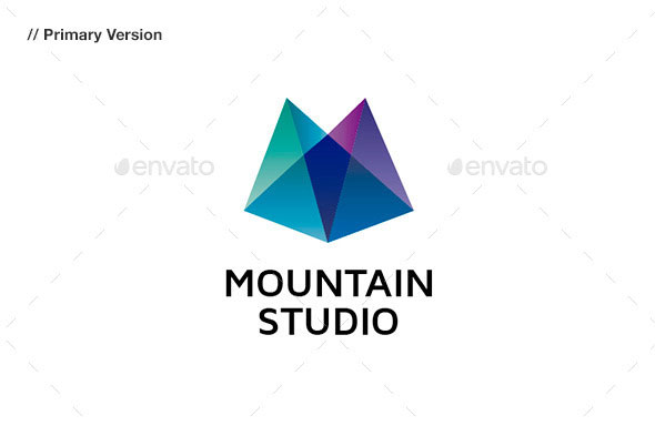 Mountain Studio - Abstract Logo