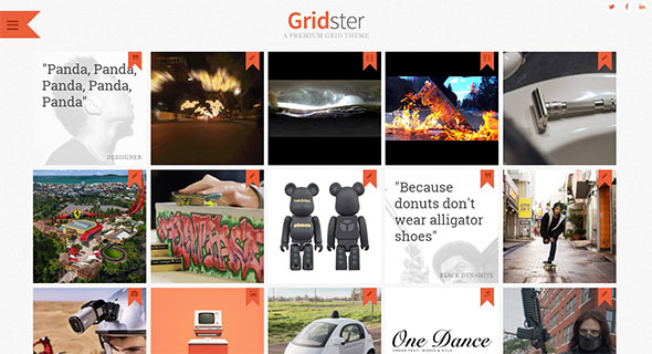 Gridster - Multi-Purpose Responsive Grid Theme