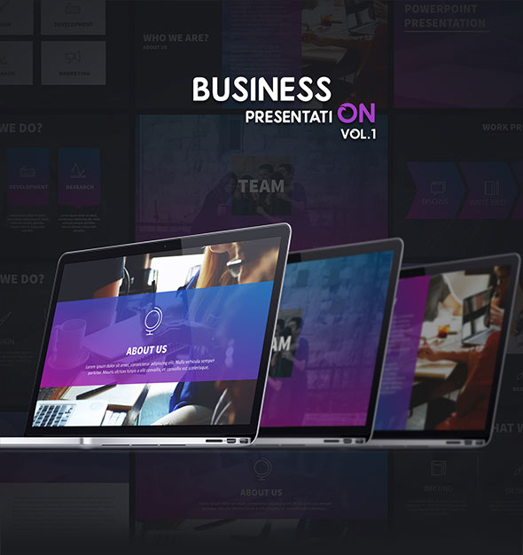 Business - Colorful Powerpoint Presentation