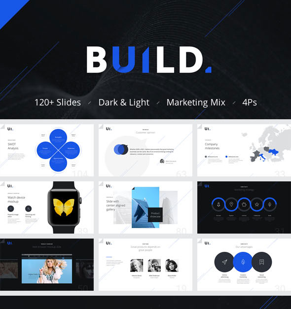 BUILD PowerPoint Presentation Template