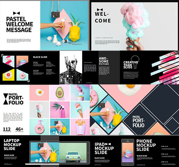 Pastel Multipurpose PowerPoint Template