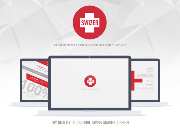 Swizer Powerpoint Presentation Template