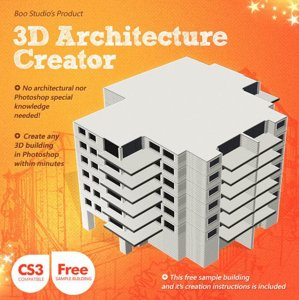 3D Architecture Creator - Building Generator