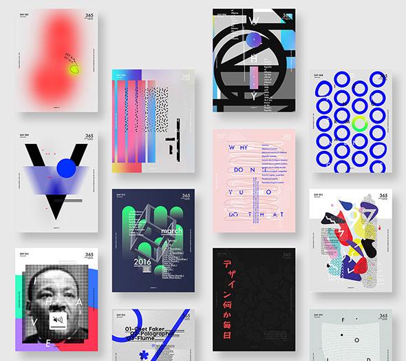 Baugasm - 365 Posters