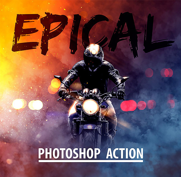 Epical Photoshop Action