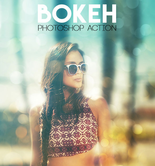 Bokeh Photoshop Action