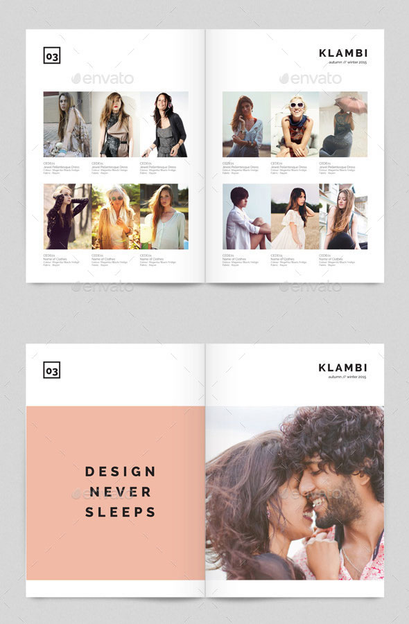 Product Catalog Klambi Template