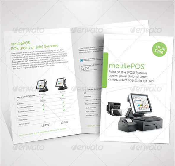 Clean Products Half Fold Brochure
