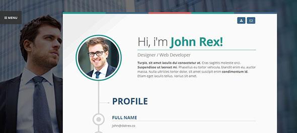 Vertica - WP Resume / CV & Portfolio