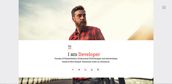 VSResume - CV / Resume WordPress Theme