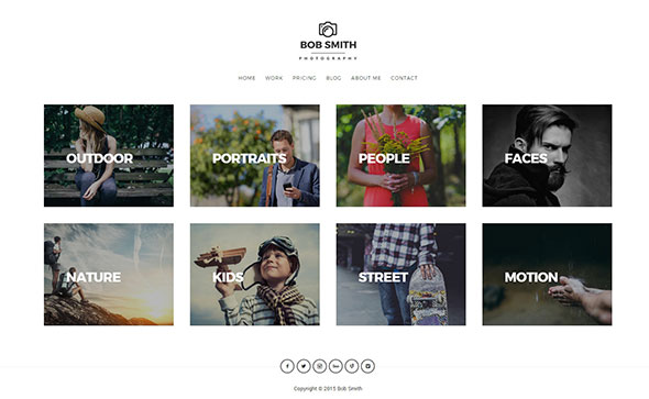 Photographer - A WordPress Photography Theme For Photographers