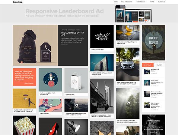 Design Blog - A Minimal and Creative Blog Theme for WordPress