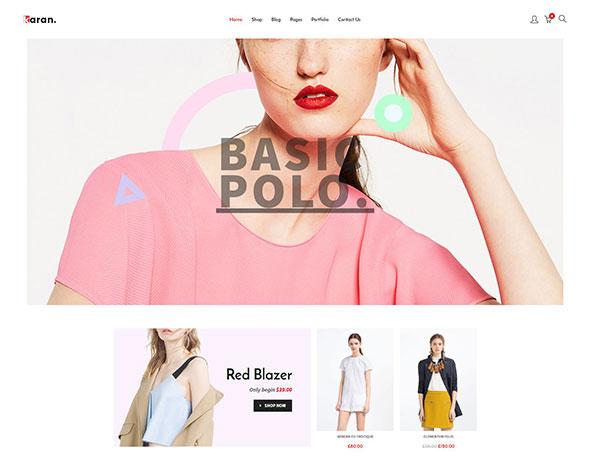 Karan - Minimal Fashion Responsive WordPress Theme