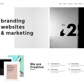 60 Best Minimal Wordpress Theme Designs 2017
