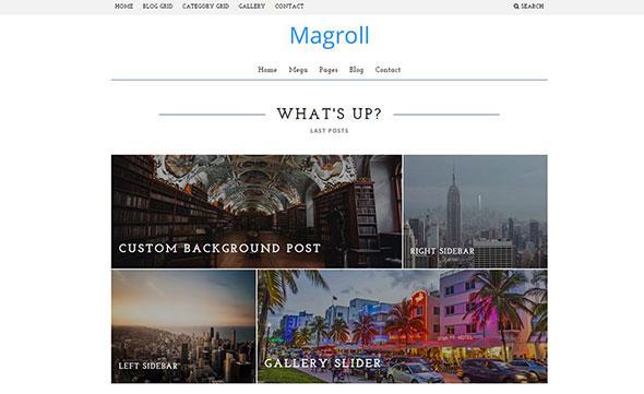 Magroll - Responsive WordPress Magazine/Blog Theme