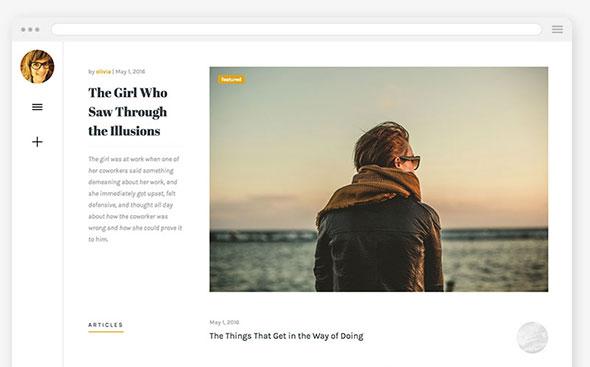 Olivia - Responsive WordPress Blog Theme
