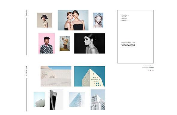 Viceversa - Minimal Photography and Portfolio WordPress Theme