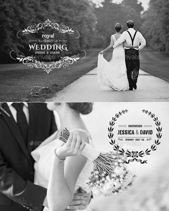 21 Premium Wedding Badges