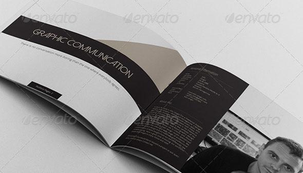Multipurpose Portfolio Brochure Landscape Version