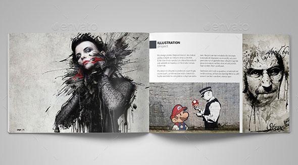 A5 Graphic Designer Portfolio