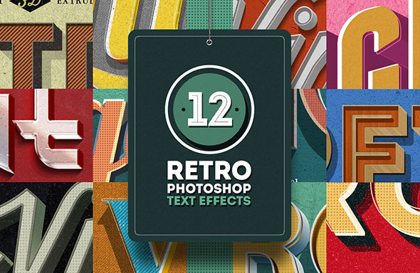 Retro Text Effects Vol.01