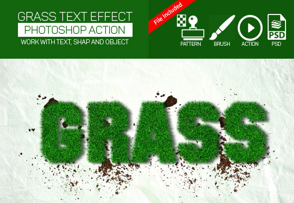 Realistic Grass Effect Action