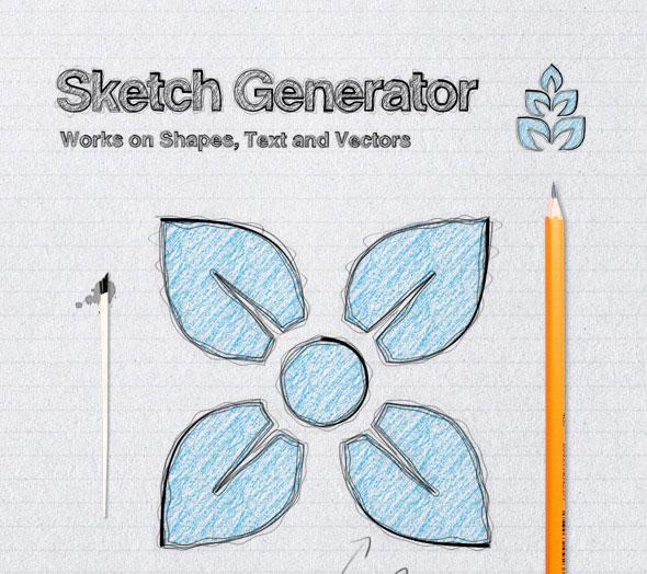 Sketch Generator - Action