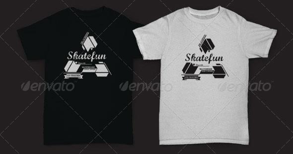 4 Extreme Sport T-Shirt Designs