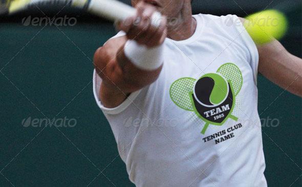 Tennis Team Club Tshirt