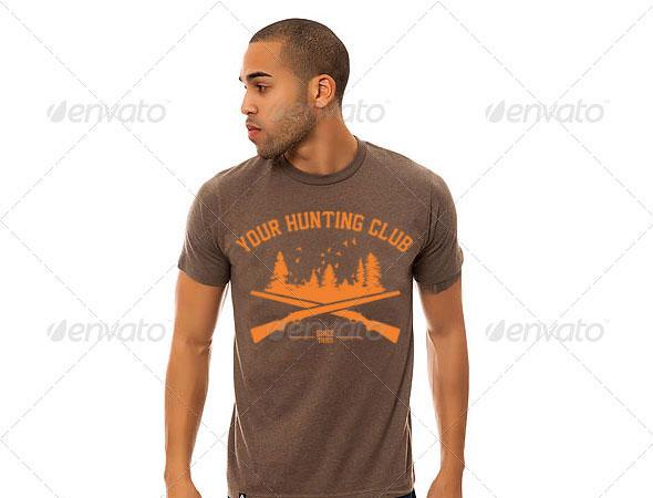 Custom Hunting Club T-Shirt Design