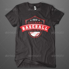 25 Amazing PSD & EPS Sport T-shirt Design Templates
