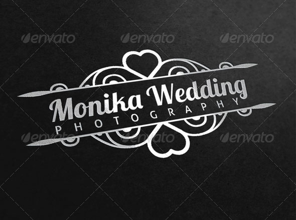 Wedding Photography Logo Template