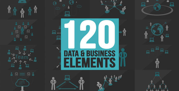 120 Element Icons People