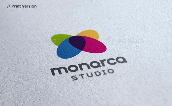 Monarca - Butterfly Logo