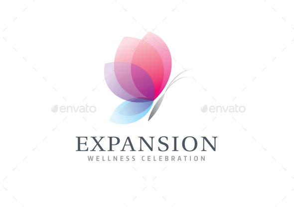 Expansion (Butterfly) Logo