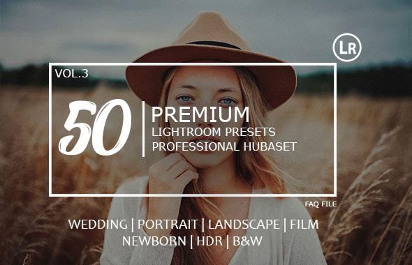 50 Premium Hubaset Lightroom Presets