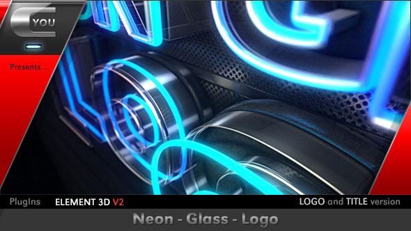 Neon Glass Logo